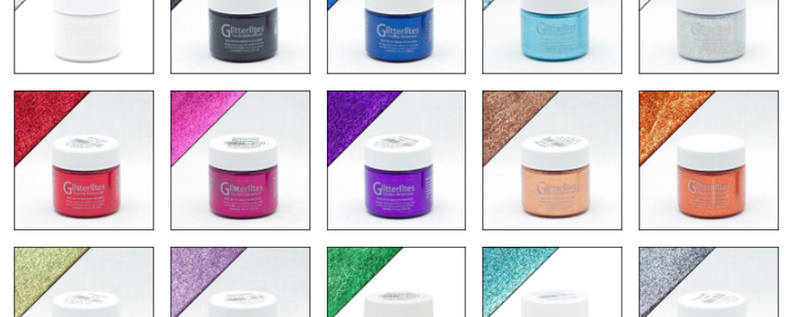 Glitterlites Paints